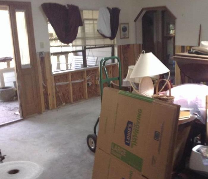 Hurricane Matthew water damage After