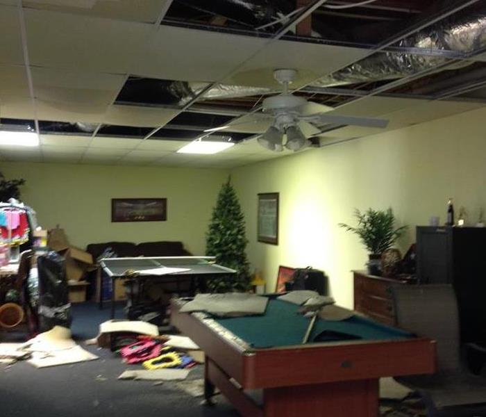 Water Damage Huntsville Residents: We Specialize in Flooded Basement Cleanup and Restoration!