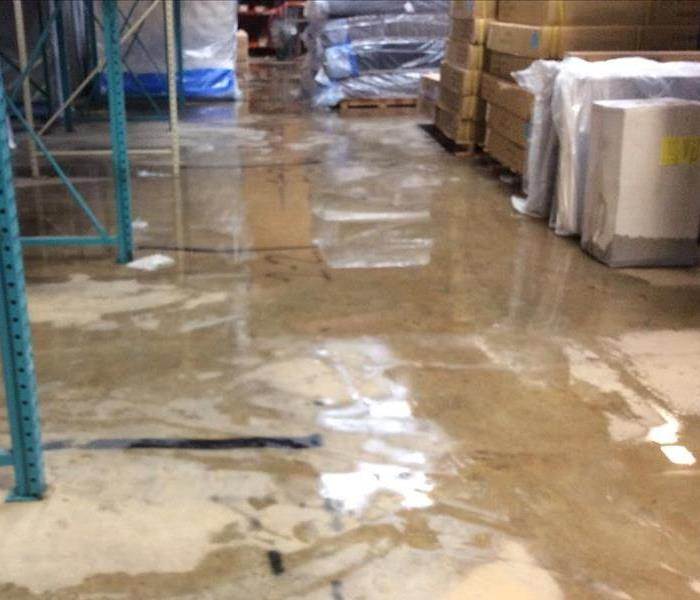 Commercial Protecting Your Warehouse Inventory From Water Damage